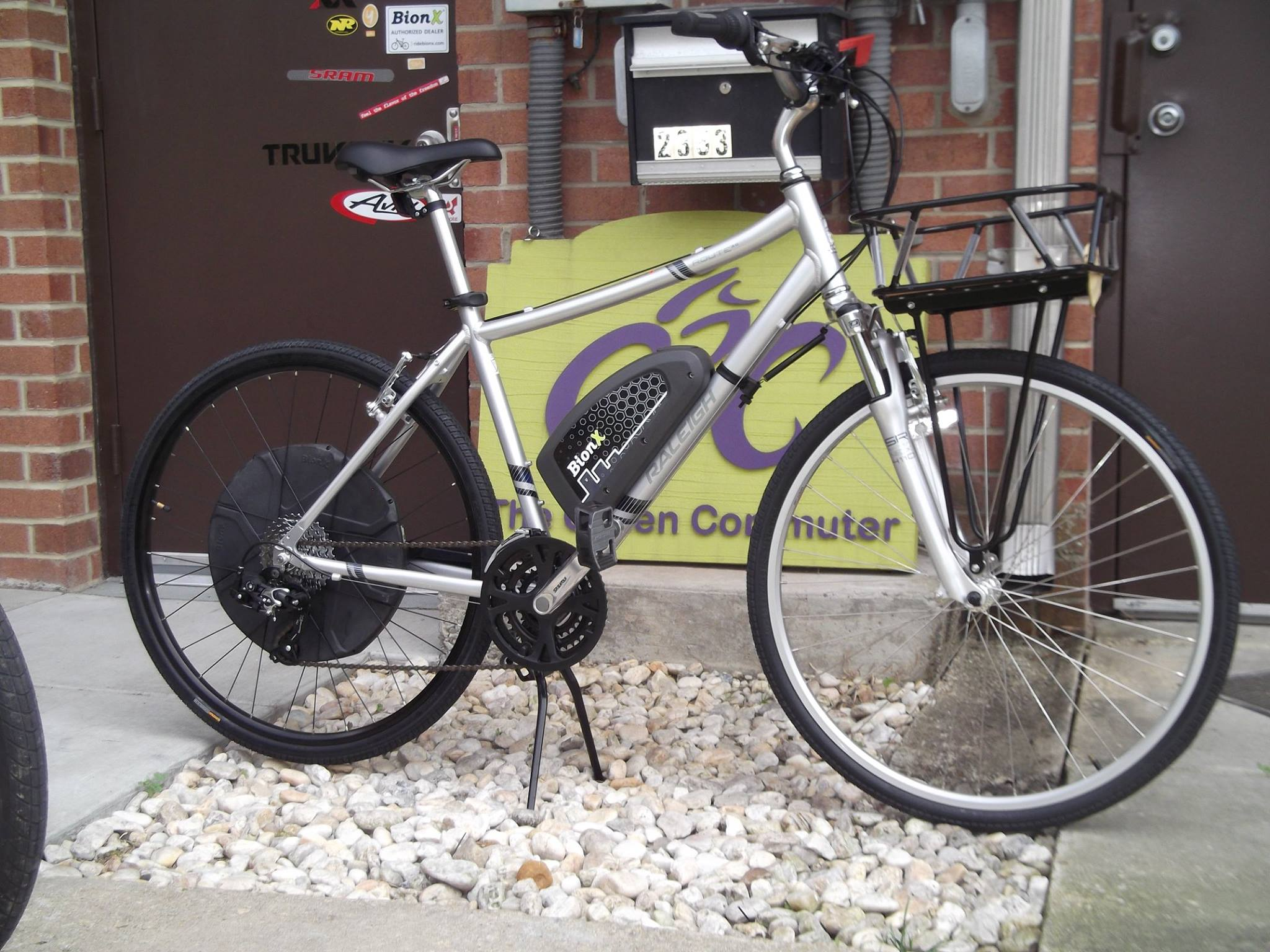 Raleigh Route 3.0 with BionX D500 motor.